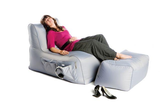 Sedezna vreca pocivalnik r lax siv bez