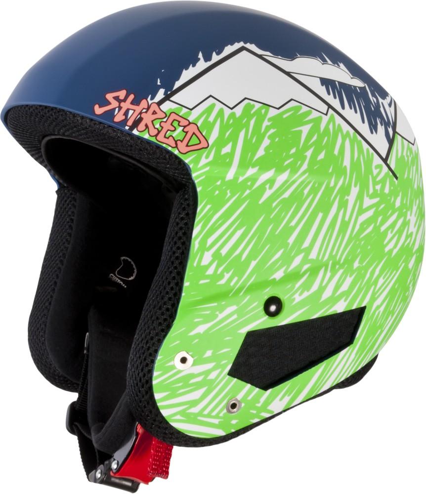 Smučarska čelada Shred BRAIN BUCKET - NEEDMORESNOW