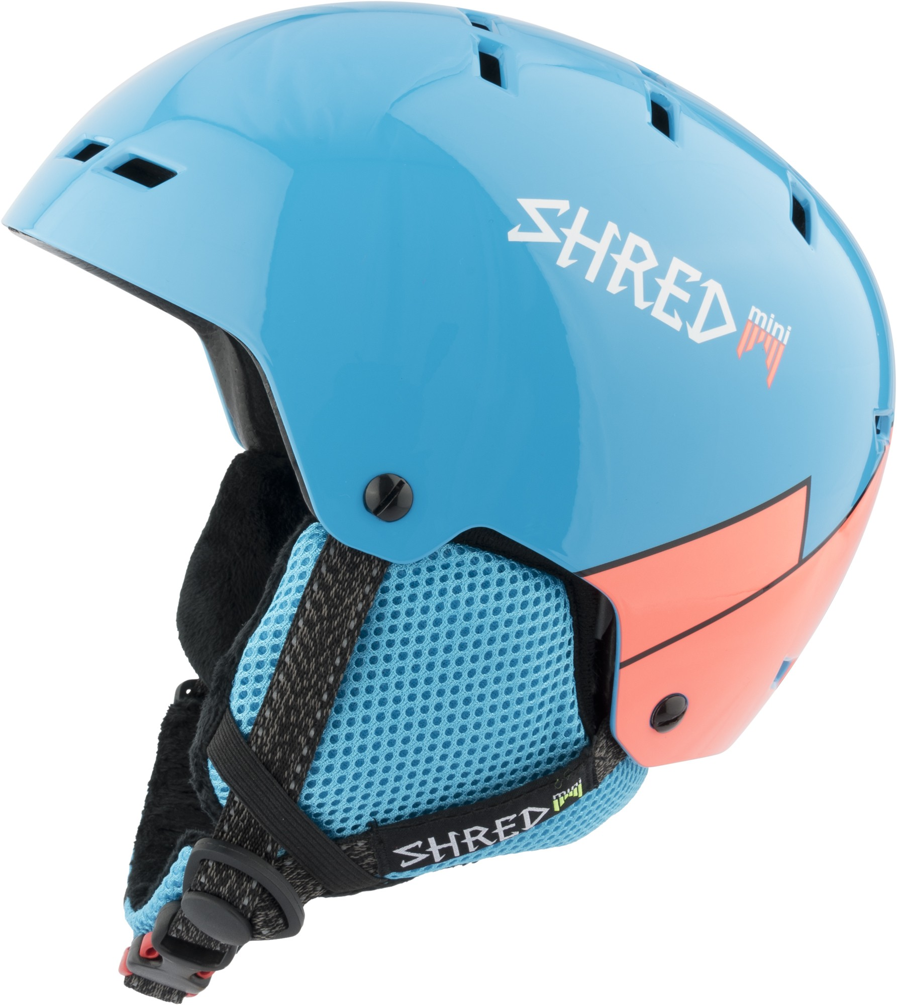 shred bumper mini warm wee blue rust