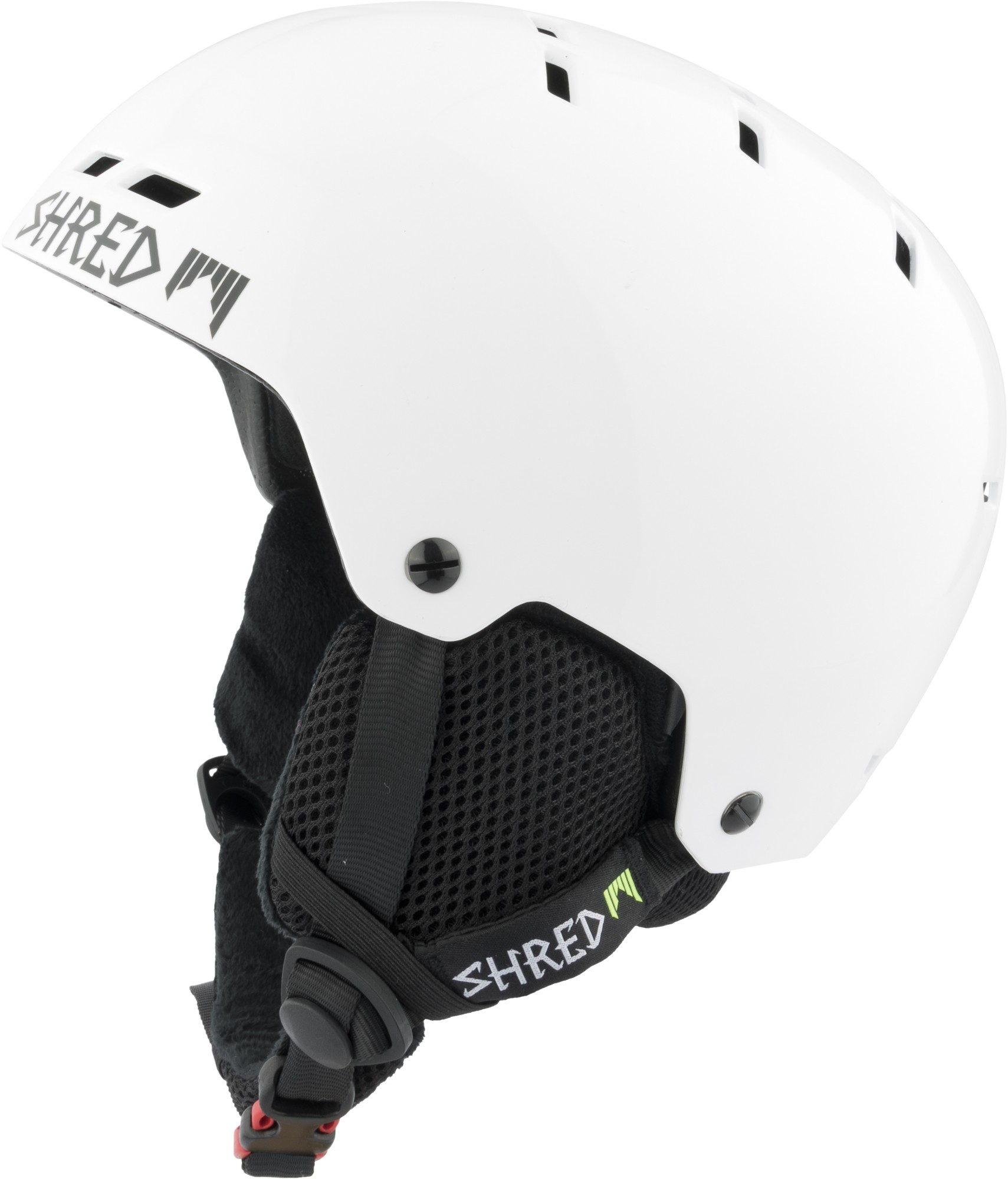 shred bumper warm whiteout