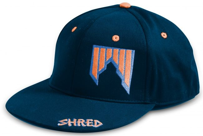 Shred cepica s sildom logo blue