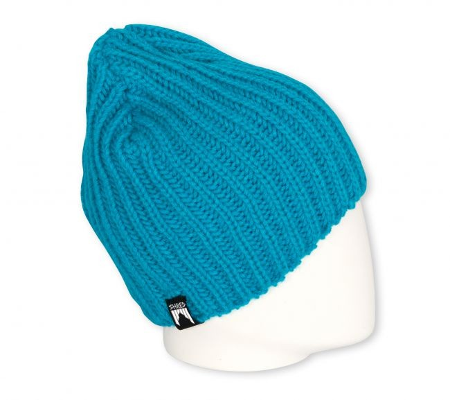 shred corduroy beanie blue