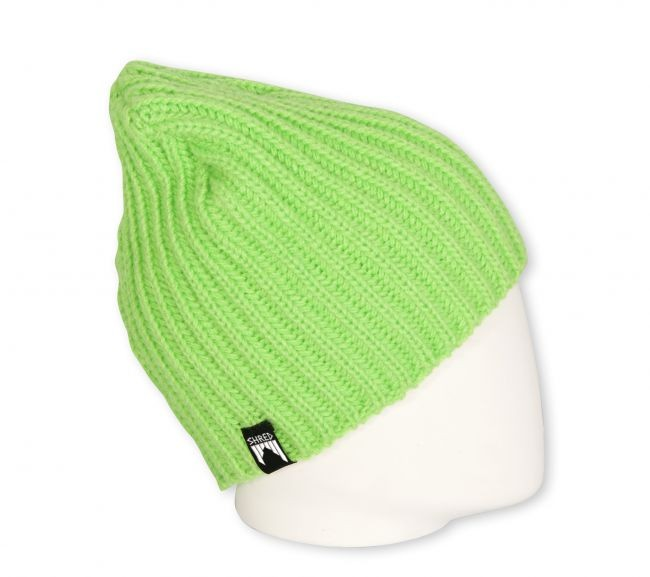 shred corduroy beanie green