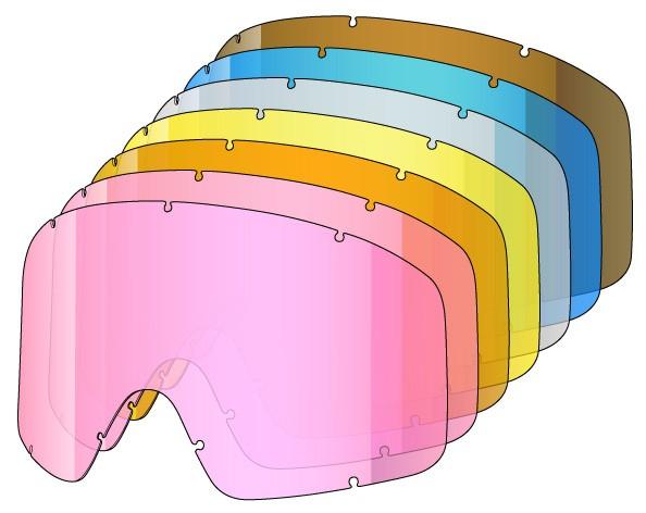 Enojne rezervne leče za Shred MONOCLE - 7kom (7KIT)