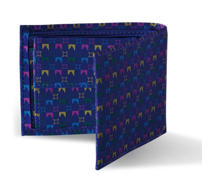 shred denarnica wallet liget blue