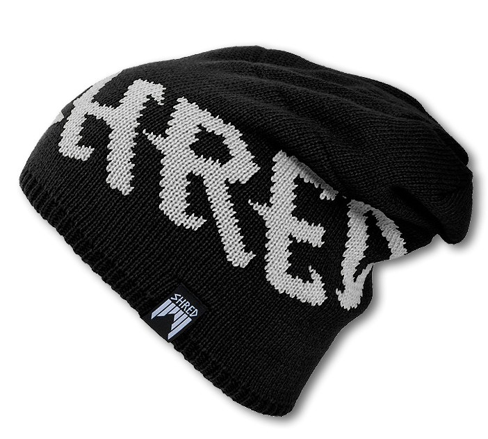 shred empire beanie black