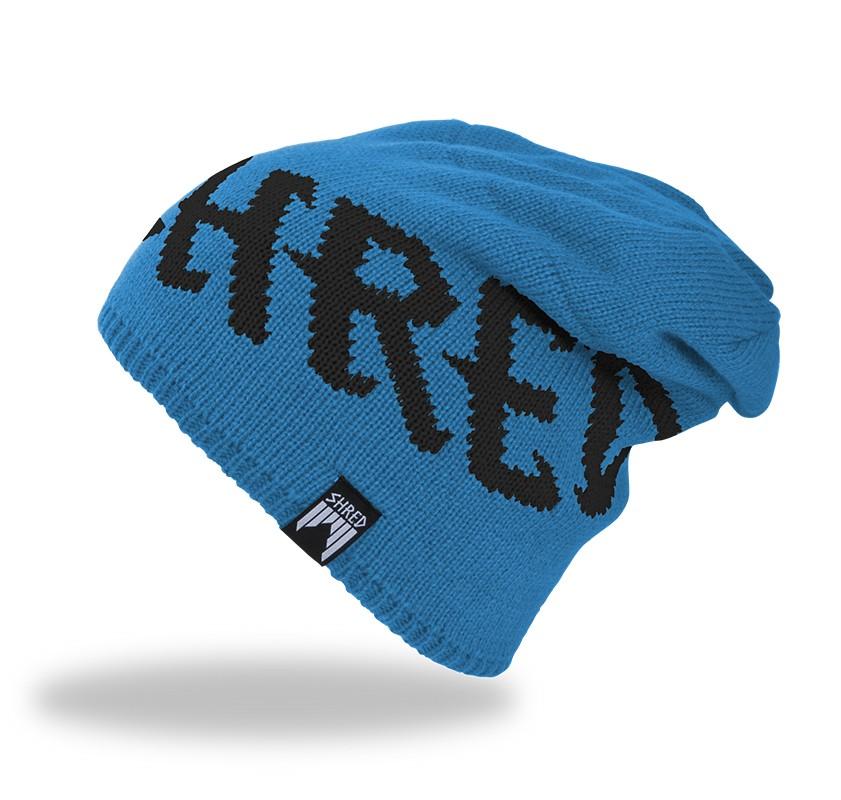 Smučarska kapa Shred EMPIRE beanie - modra