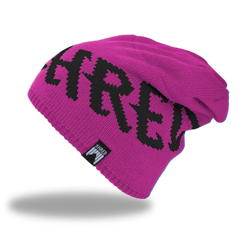 Smučarska kapa Shred EMPIRE beanie - roza