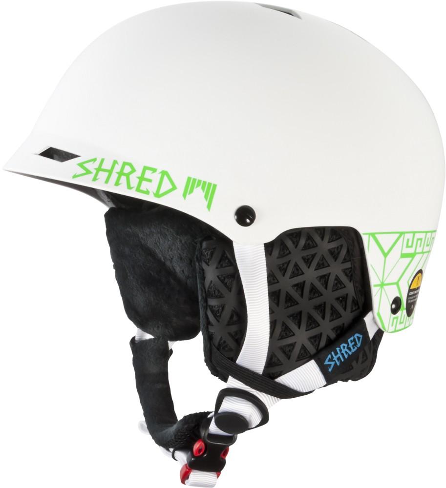 Smučarska čelada Shred Half Brain D-LUX NORFOLK GREEN