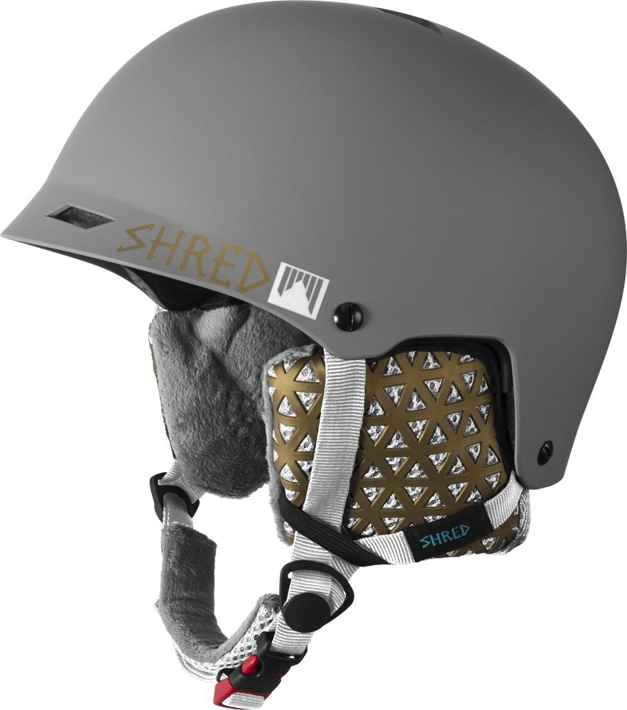 Smučarska čelada Shred HALF BRAIN D-LUX Stivvy, 2017