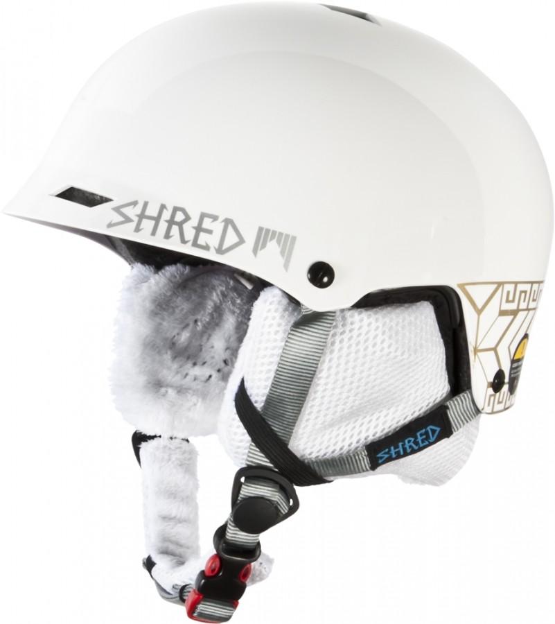 Smučarska čelada Shred Half Brain - Norfolk Gold