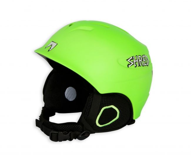 Shred otroška smučarska čelada  helmut lime