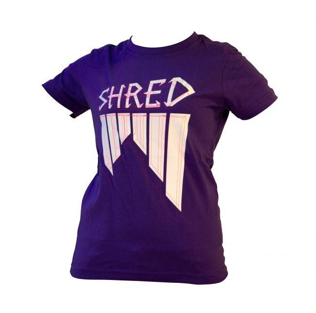 Shred majica wireframe