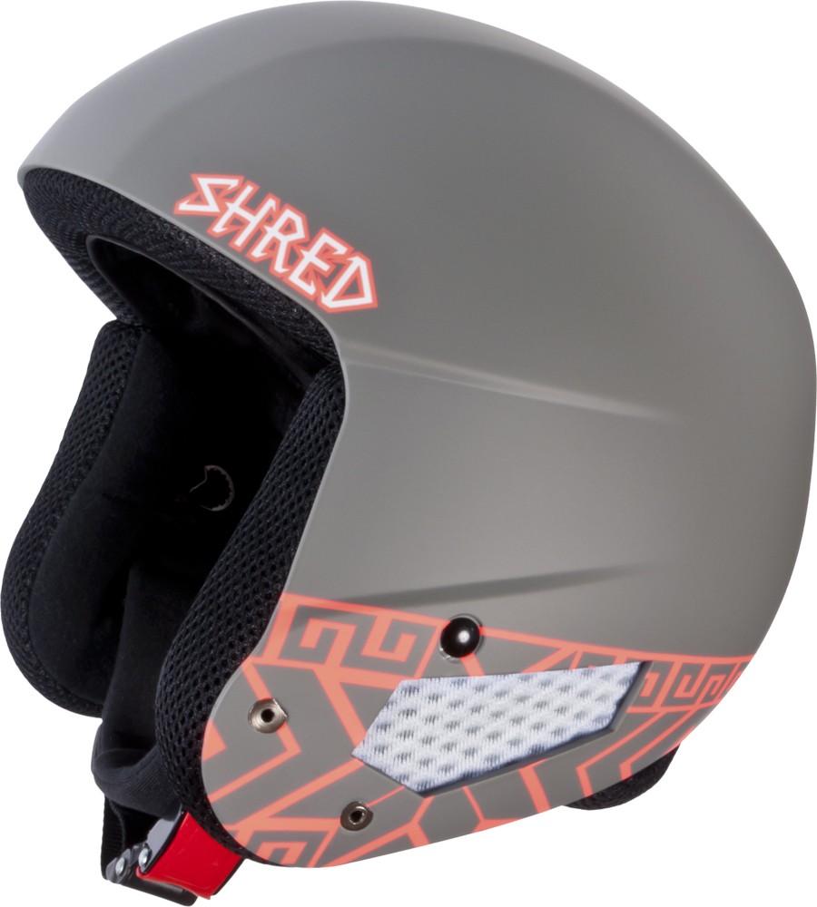 Smučarska čelada Shred Mega Brain Bucket RH FIS - NORFOLK RUST