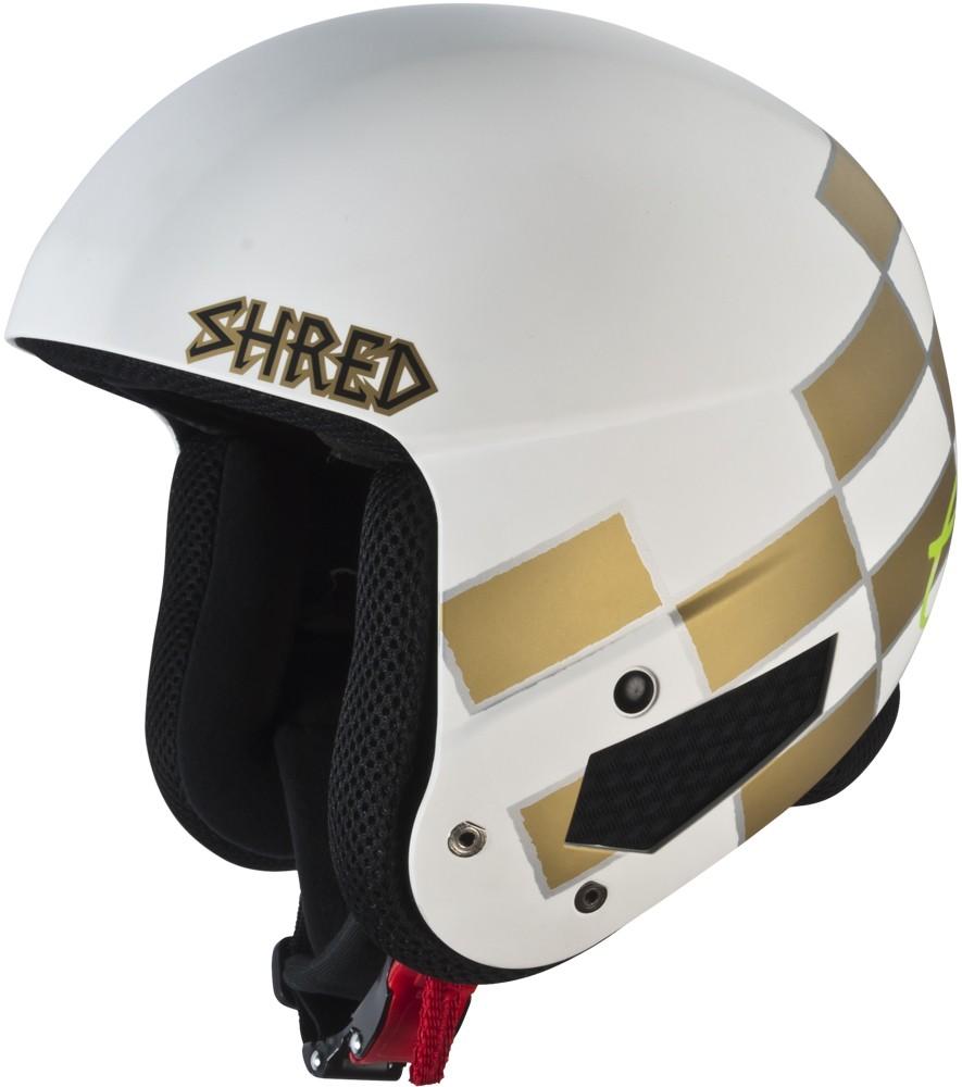 Smučarska čelada Shred Mega Brain Bucket RH FIS - RAPTOR (Lara Gut)