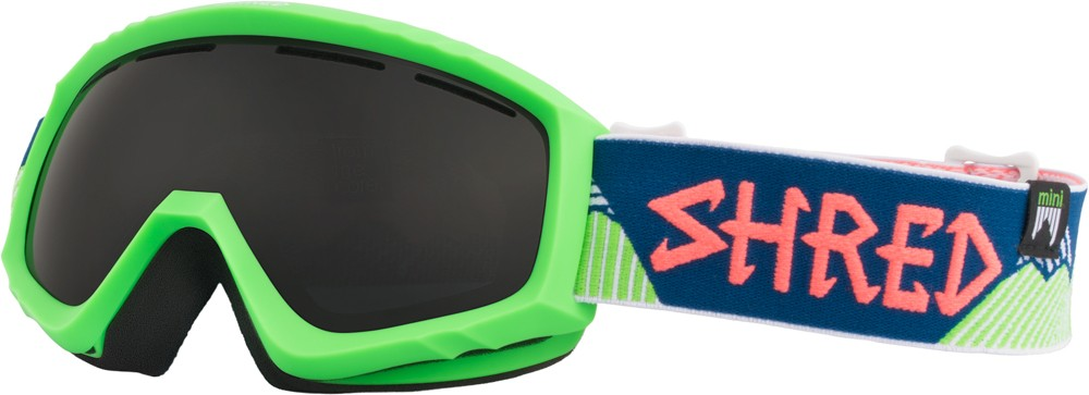 shred mini needmoresnow goggles