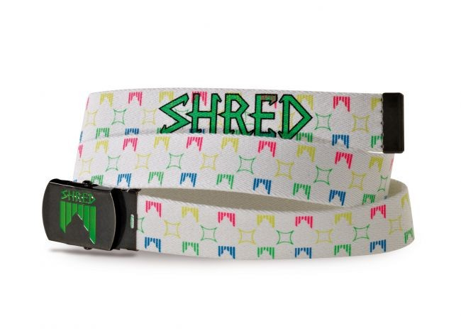 pas shred belt liget white