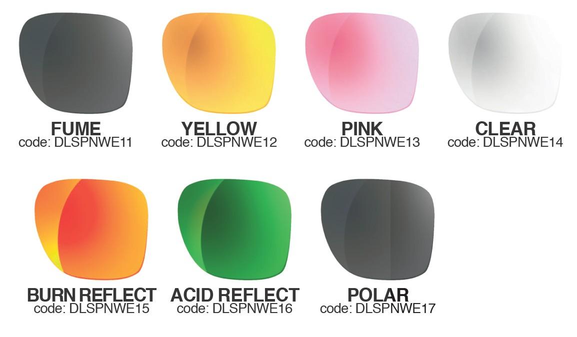 Rezervna stekla za sončna očala Shred Provocator Noweight