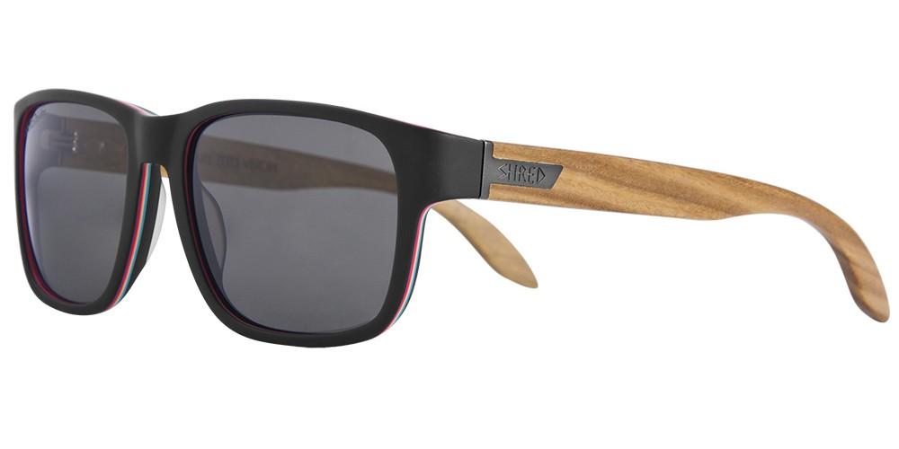 Polarizirana lesena očala Shred STOMP - ShrastaWood