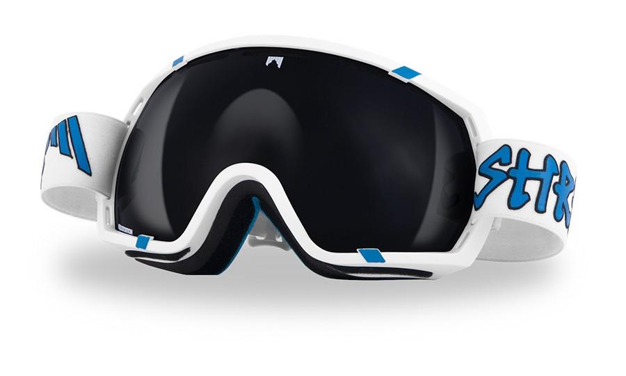 Polarizirana smučarska očala Shred Stupefy - WHITEY