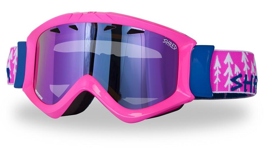Smučarska očala Shred Tastic - FOREST PINK