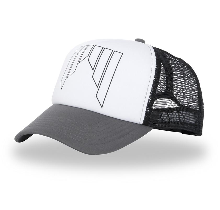 Shred kapa s šildom Trucker Cap - črna/bela