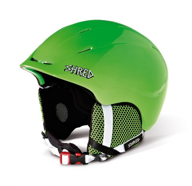 Smučarska čelada shred toupee green