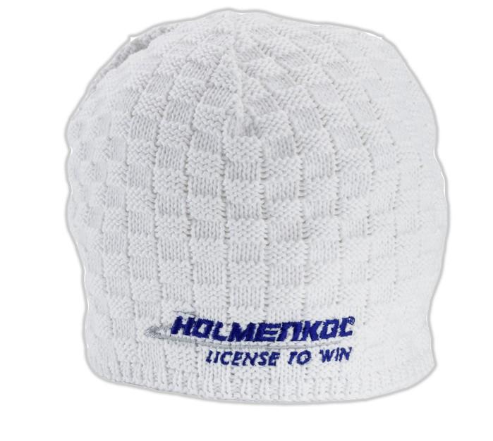 Smučarska pletena kapa Holmenkol - bela