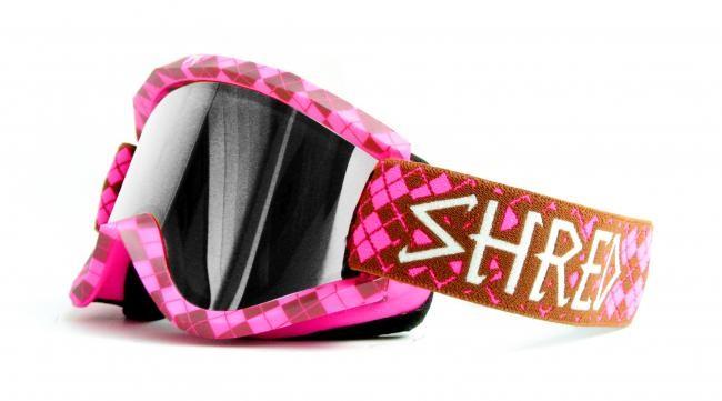 Smučarska očala Shred Soaza: REDUX - pink