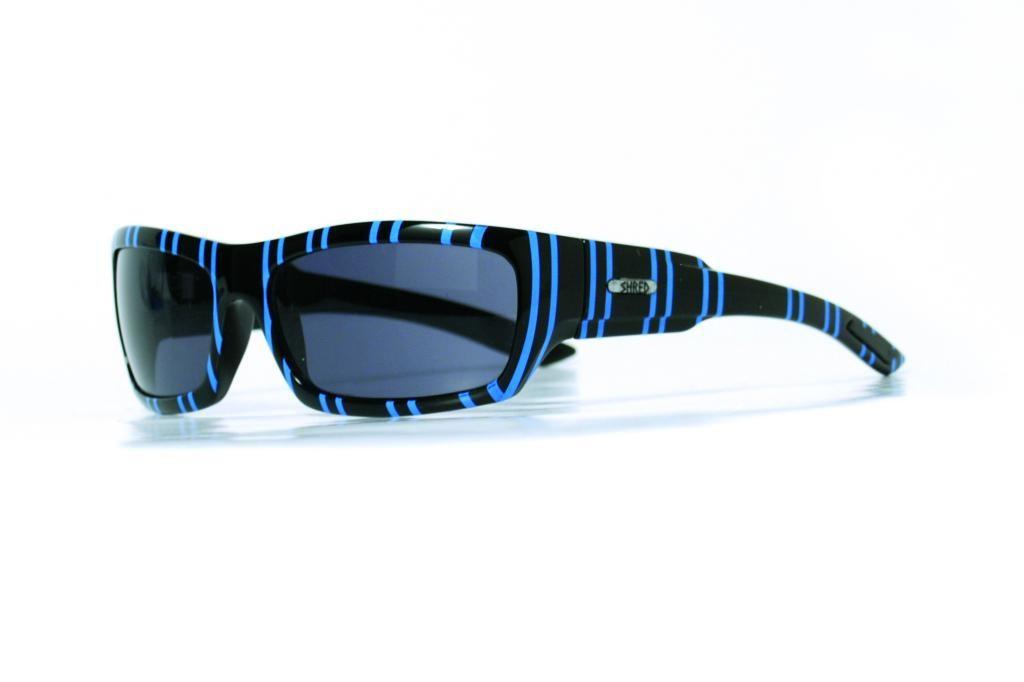 Sončna očala Shred - STIWEY - črno/modra