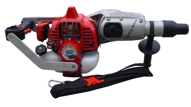 Motorna vrtalka za sneg 1,37 HP