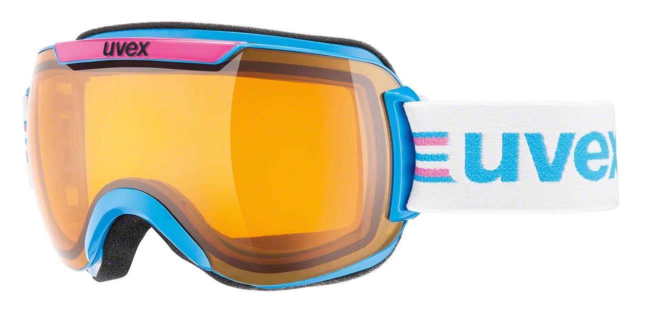 Smučarska očala Uvex Downhill 2000 Race cyan/pink