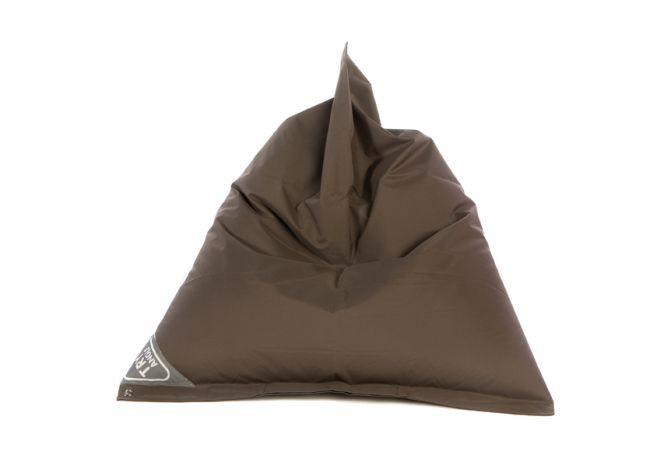 vreča za sedenje tryangle rjava