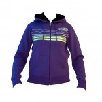 shred hoodie lines purple