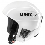 Smučarska čelada FIS Uvex race + bela, 2018