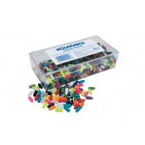 Holmenkol plastični čepi mešanih barv - 4.5mm