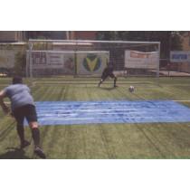 Pregibna drsna PVC podloga za nogometne vratarje
