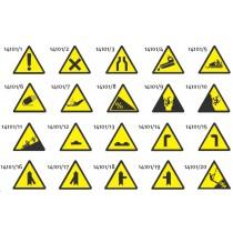 Liski trikotni znaki za nevarnosti