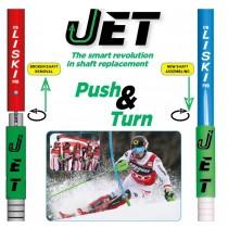 liski jet system slalom poles