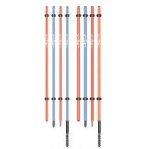 Različni Liski količki za ograjevalne mreže, 165cm
