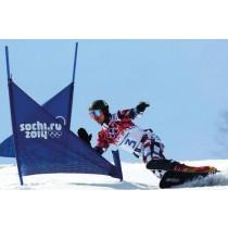 Liski snowboard SL zastavice, brez napisa