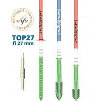 Liski TOP27 slalom količki s plastičnim pregibnim delom