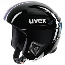 Smučarska čelada FIS Uvex race + črna/roza, 2017